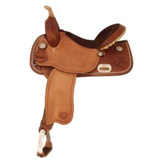 Tex Tan Go Round Saddle   Western Saddles and Tack