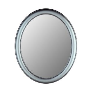 Hitchcock Butterfield Premier Series Oval Wall Mirror   771   Pewter   Wall Mirrors