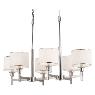 Trans Globe 1056 BN Chandelier   Brushed Nickel   34.5W in.   Chandeliers