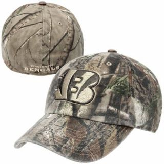 47 Brand Cincinnati Bengals Franchise Fitted Hat   Realtree Camo