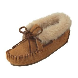 Minnetonka Childrens Charley Bootie Slipper   Cinnamon   Kids Slippers
