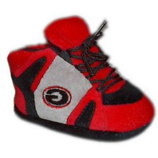Comfy Feet NCAA Baby Slippers   Georgia Bulldogs   Kids Slippers
