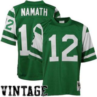 Mitchell & Ness Joe Namath New York Jets 1968 Authentic Throwback Jersey   Green