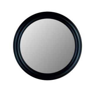 Hitchcock Butterfield Rounds Series Round Wall Mirror   772   True Black   Wall Mirrors