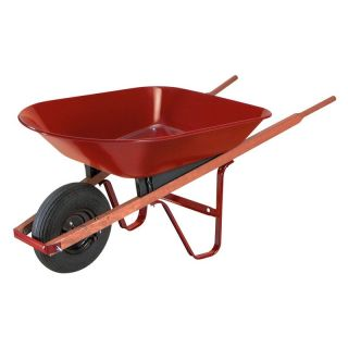 Ames 4 cu ft. Steel Homeowner Wheelbarrow   Wheelbarrows