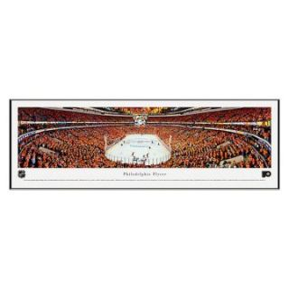 Blakeway Panoramas Philadelphia Flyers Playoffs Standard Frame NHL Wall Art   Clocks & Wall Art