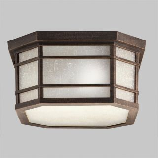 Kichler Cameron 9811PR Outdoor Ceiling   13.25 in.   Prairie Rock   Outdoor Ceiling Lights