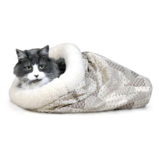 K&H Pet Products Kitty Crinkle Sack   15 x 18 in.   Cat Beds