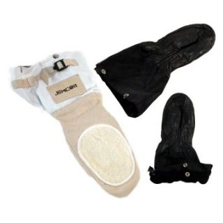 Jemcor Tan Leather Ski Doo Mitt With Removable BOA Liner   Winter Gloves