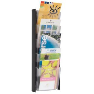 Alba 5 Pocket Wall A5 Document Display   5.8W in.   Commercial Magazine Racks