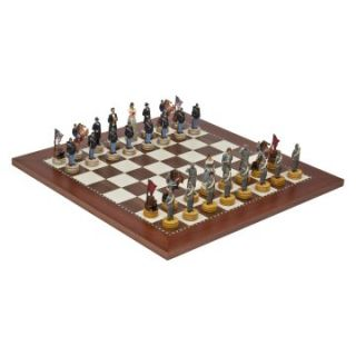 American Civil War Marble Chess Set   Chess Sets