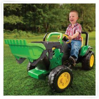 Peg Perego John Deere Pedal Farm Tractor & Trailer   Pedal Toys