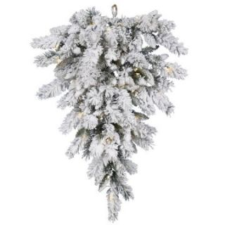 Vickerman 36 in. Snow Ridge Tear Drop Pre Lit Swag   Christmas Garland