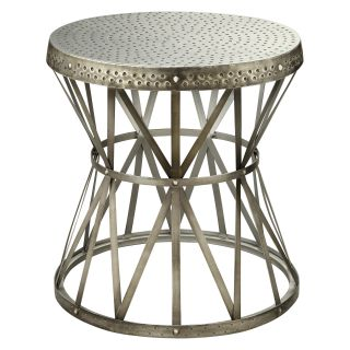 Coast to Coast 43329 Round Metal End Table   End Tables