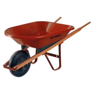 Ames 4 cu ft. Poly Wheelbarrow   Wheelbarrows