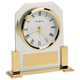 Howard Miller Paramount Desktop Clock   Alarm Clocks