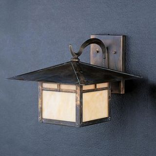 Kichler La Mesa Outdoor Wall Lantern   10.5H in. Canyon View   Outdoor Wall Lights