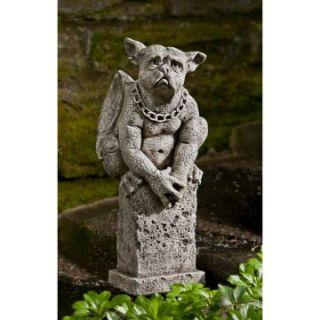 Campania International Oswald The Gargoyle Cast Stone Garden Statue   Garden Statues