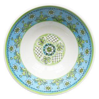 Le Cadeaux Benidorm Blue Salad Bowl   Set of 2