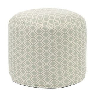 Howard Elliott Tall Pouf Geo Ottoman   Ottomans