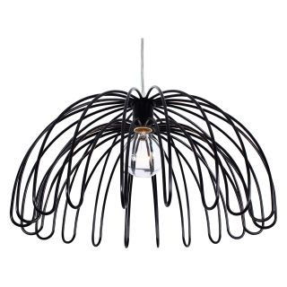 Varaluz Clyde 1 Light Pendant   18W in. Black   Ceiling Lights