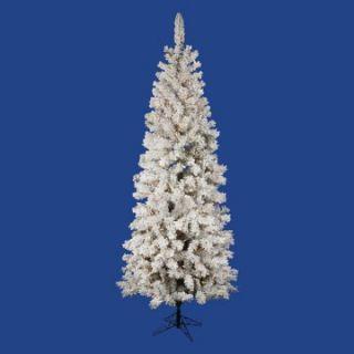 Vickerman Flocked Pacific Pre lit Christmas Tree   Christmas Trees