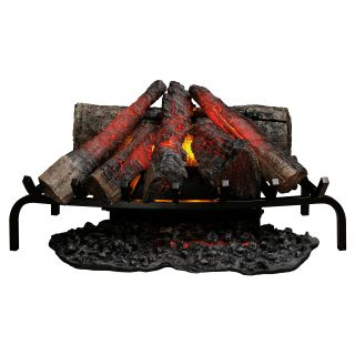Dimplex 28 in. Open Hearth Electric Fireplace Insert   Electric Inserts