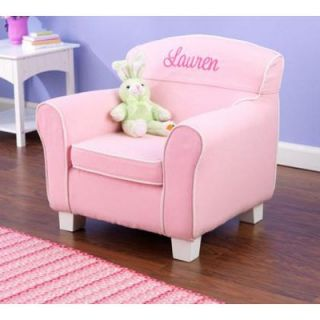 KidKraft Personalized Laguna Pink Chair   Specialty Chairs