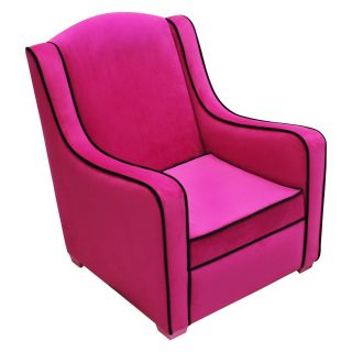 Harmony Kids Camille Chair   Hot Pink/Black   Kids Arm Chairs