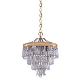 Crystorama 120 Chloe Pendant   12W in.   Pendant Lighting
