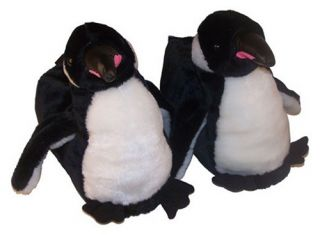 Comfy Feet Penguin Animal Feet Youth Slippers   Kids Slippers