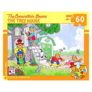 Bear Family Tree house 60 Piece Jigsaw Puzzle   Jigsaw Puzzles