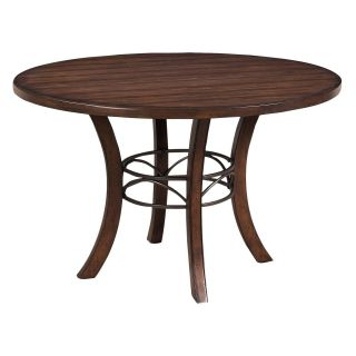 Hillsdale Cameron Round Wood Dining Table   Dining Tables