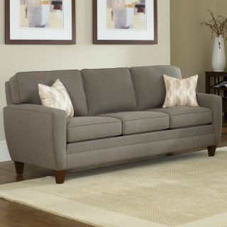 gray modern steel color fabric sofa sectional chaise 2 pc li