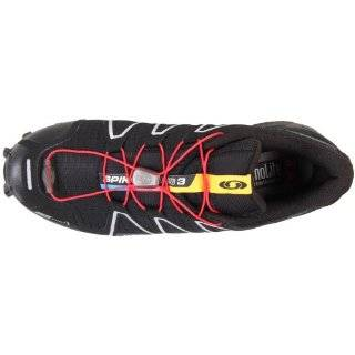 Salomon Men Spikecross 3 CS / 120554 Farbe: black/black/bright red: Schuhe & Handtaschen