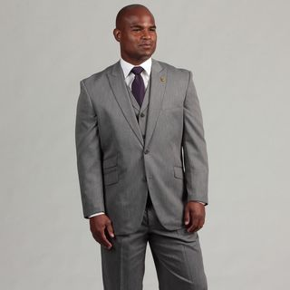 Phat Farm Men's 2 button Vested Suit Phat Farm Suits