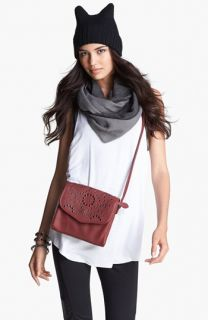 Leith Infinity Scarf, Evelyn K Beanie & Big Buddha Crossbody Bag