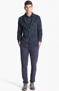 John Varvatos Star USA Shawl Collar Cardigan & Dockers® Slim Tapered Leg Chinos