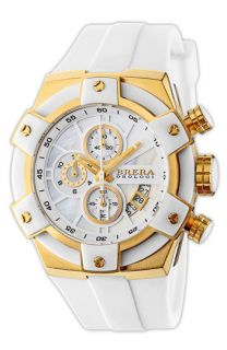 Brera Federica Chronograph Ceramic Bezel Watch, 43mm