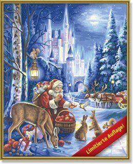 Schipper 609300560   Malen nach Zahlen Weihnachtsbild 2011, 40x50 cm: Spielzeug