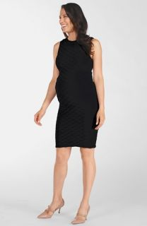 Tees by Tina Lattice Maternity Dress