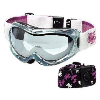 Tchibo Damen Ski  und Snowboardbrille Anti Fog Beschichtung Sport & Freizeit