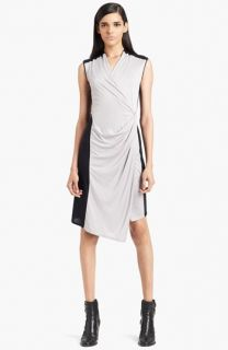 Japanese Weekend Draped Maternity/Nursing Dress