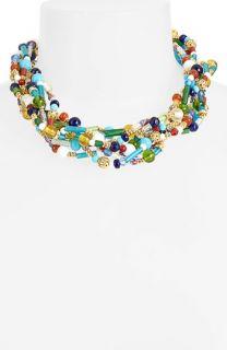 Lauren Ralph Lauren Beaded Multistrand Collar Necklace