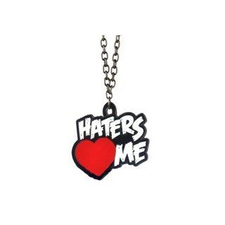 NEU THE MIZ Haters Love Me WWE ANH�NGER+HALSKETTE PENDANT AM KETTE: Garten
