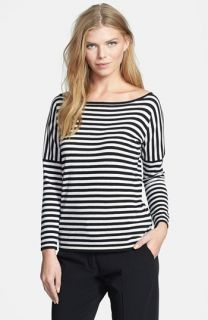 Weekend Max Mara Bambo Stripe Silk & Cotton Sweater
