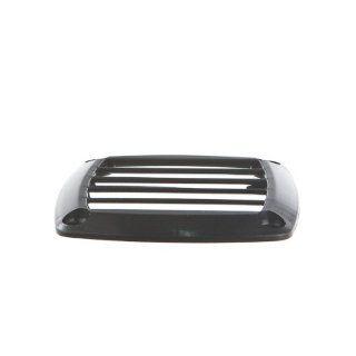 L�ftungsgitter aus ABS Kunststoff 125 x 125 mm und 85 mm x 85 mm , Ausf�hrung:125 schwarz: Sport & Freizeit