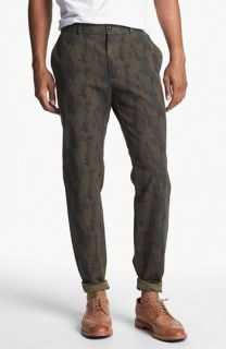 J. Press York Street Cambridge Camo Print Slim Fit Chinos