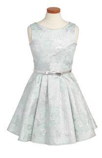Zoe Ltd Metallic Brocade Sleeveless Dress (Big Girls)