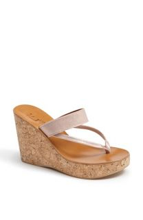 K.Jacques St. Tropez Saturnine Cork Wedge Sandal